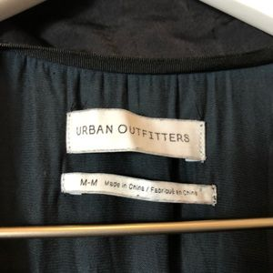 Urban Outfitters Pants - URBAN OUTFITTERS black satin-like jumpsuit SIZE M
